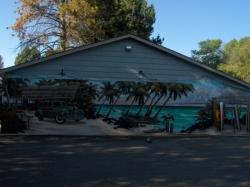 loveland island grill mural -
